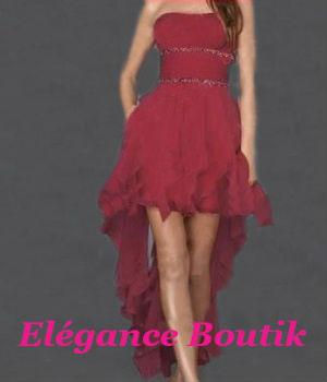 Elegance boutik marseille robe de cocktail bordeaux for Robe de cocktail combiné avec bracelet hipanema bordeaux